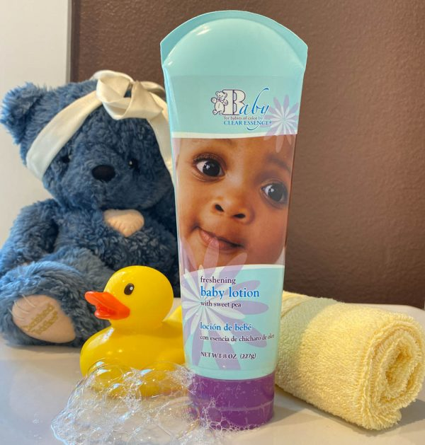 Clear Essence Baby Lotion with Sweet Pea (8 oz.)