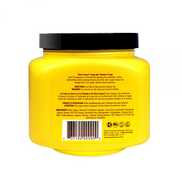 Clear Essence Lemon Plus Vitamin C - Vitamin A Creme (19 oz.)