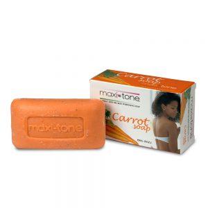 Maxi-Tone® Carrot Seed Oil Skin Whitening Soap (5 oz.)