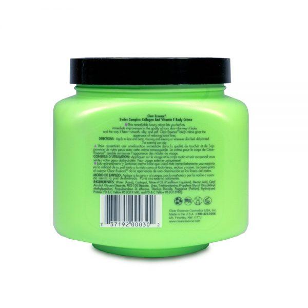 Sensitive Swiss Complex Collagen with Vitamin E Creme (19 oz.)