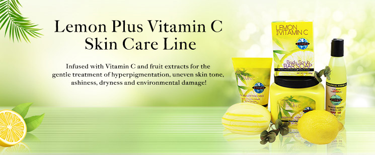 Clear Essence Lemon Plus Vitamin C Skin Care Line