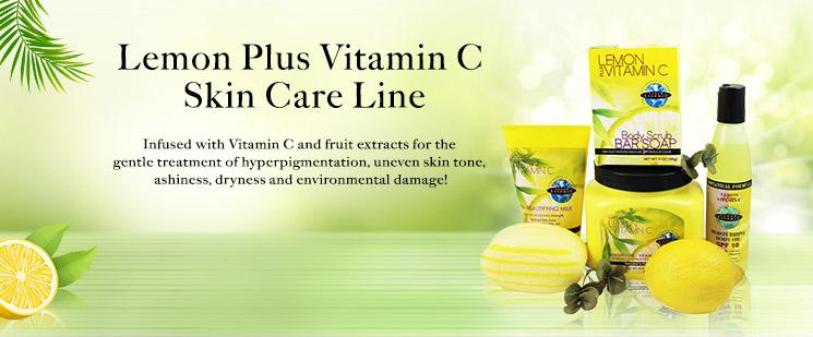 Clear Essence Lemon Plus Vitamin C Skin Care Line