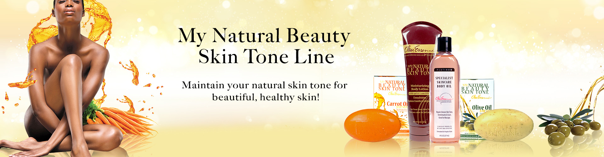 Clear Essence My Natural Beauty Skin Tone Skin Care Line