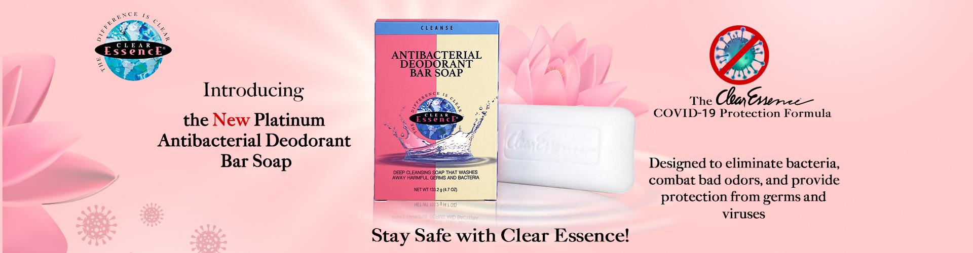 Clear Essence Platinum Anti-Bacterial Deodorant Soap