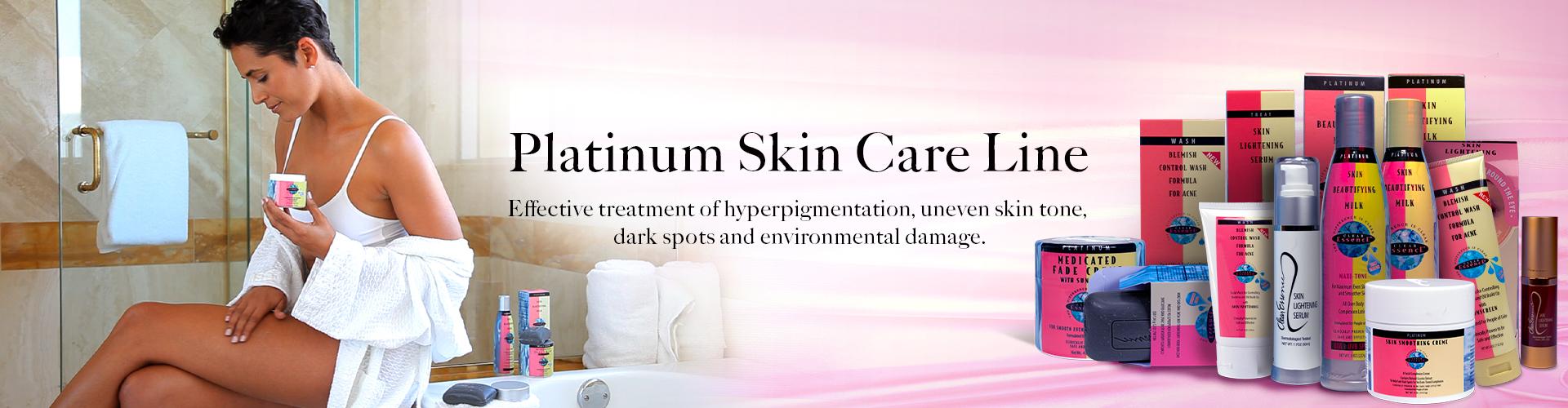Clear Essence Platinum Skin Care Line