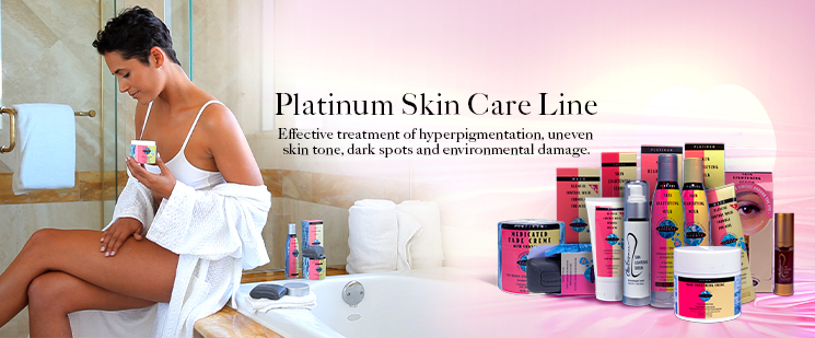 Clear Essence Platinum Skin Care Line